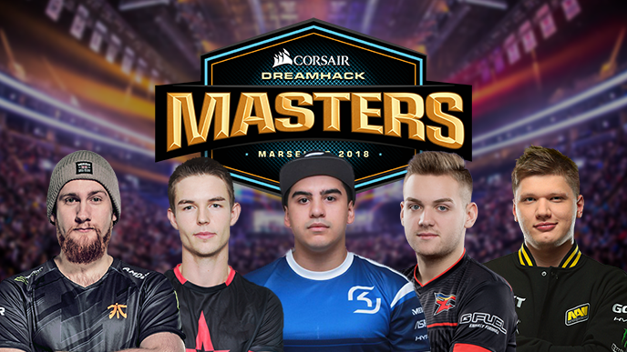 The Top 5 Players to Watch at DreamHack Masters Marseille 2018